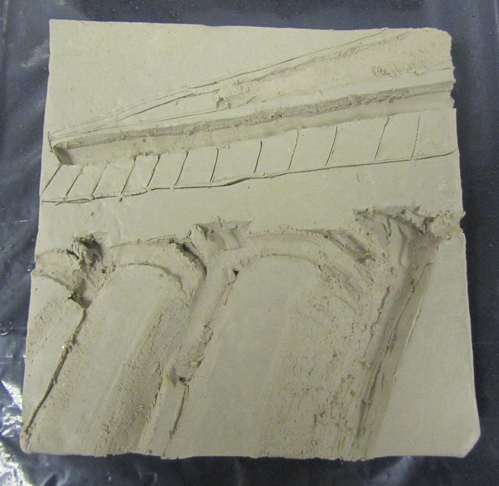30 40g Architecture As Art Clay Relief Tiles Shc Arts